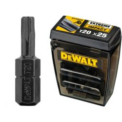 Bity udarowe T20 - 25 sztuk Dewalt DT70528