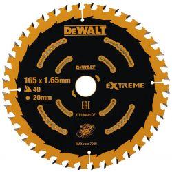 Tarcza 165mm 40zębów do Drewna Dewalt DT10640