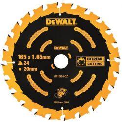 Tarcza 165mm 24zębów do Drewna Dewalt DT10624
