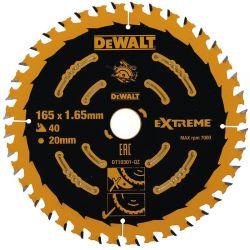 Tarcza 165mm 40 zębów do Drewna Dewalt DT10301