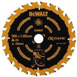 Tarcza 165mm 24 zębów do Drewna Dewalt DT10300