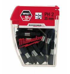 BITY SHOCKWAVE MILWAUKEE PHILLIPS PH2 - 25 SZTUK