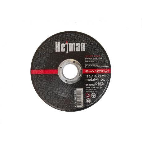 HETMAN NOVOABRASIVE Tarcza do cięcia 125x1,0x22,23mm