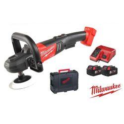 Polerka z regulacją prędkości 18V 2x,5,0Ah Milwaukee M18 FAP180-502X