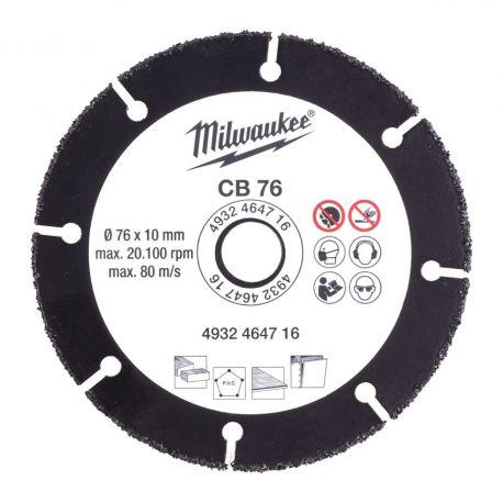 Tarcza tnąca Milwaukee CB 76 mm