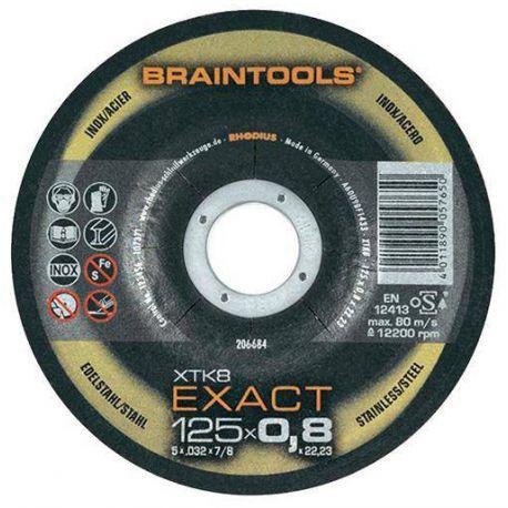 Tarcza tnąca do metalu 125 x 0.8 x 22,23 mm Rhodius EXACT XTK8