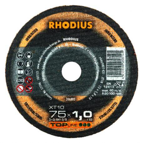 Tarcza tnąca 75x1.0x10 Rhodius XT10