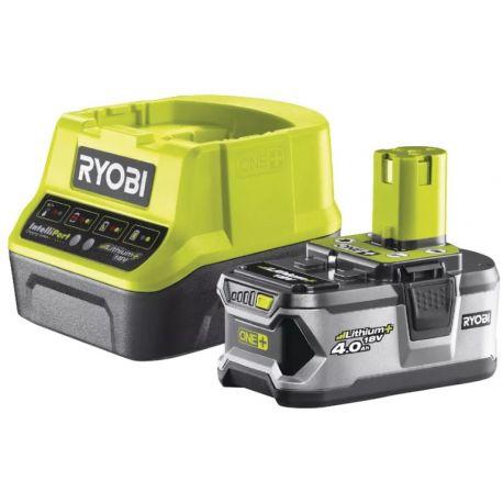 Zestaw Akumulator Lithium 18V 4.0Ah + Ładowarka Ryobi RC18120-140