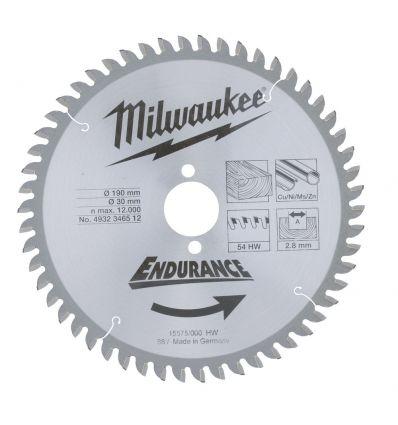 Tarcza pilarska do drewna 305 mm Milwaukee