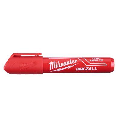 Marker Milwaukee InkZall czerwony (L), 1 szt