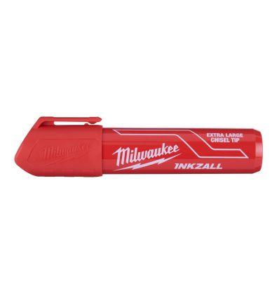 Marker Milwaukee InkZall czerwony (XL), 1 szt