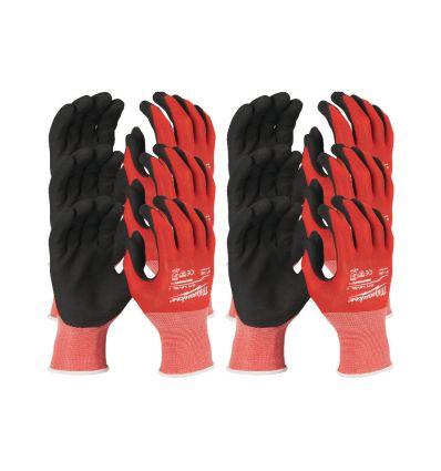 Rękawice odporne na przecięcia, rozmiar XL/10, 12 szt