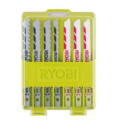 Zestaw brzeszczotów do wyrzynarek Ryobi