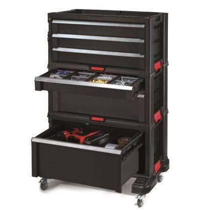 Szafka narzędziowa Keter 6 szuflad Tool Chest Set 237786