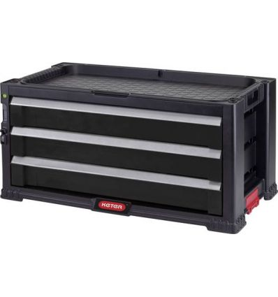 Skrzynia narzędziowa 3 szuflady KETER Tool Chest 237791
