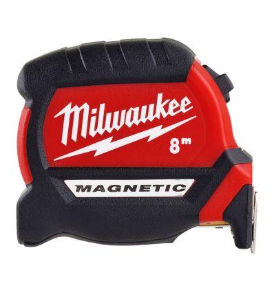 Taśma miernicza 8 m Milwaukee Premium Magnetic