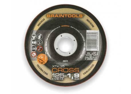 Tarcza tnąca 125x1.9 Rhodius CROSS XTK35