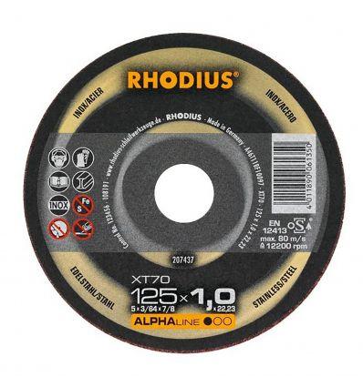 Tarcza tnąca 115x1.0 Rhodius XT70