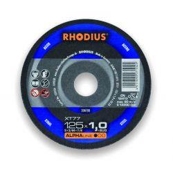Stalowa tarcza tnąca 125x1.5 Rhodius XT77