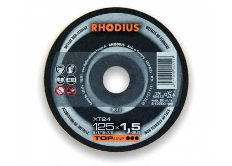 Tarcza do cięcia aluminium 125x1.5 Rhodius XT24