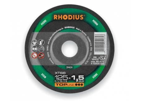 Tarcza do cięcia kamienia 125x1.5 Rhodius XT66