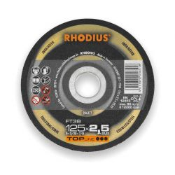 Tarcza do cięcia stali nierdzewnej 125x2.0 Rhodius FT38