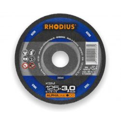Tarcza do cięcia stali 125x3.0 Rhodius KSM