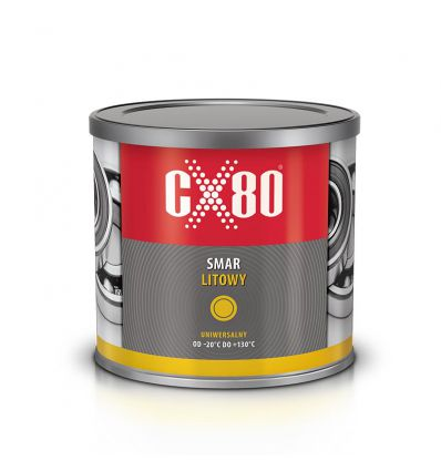 Smar litowy uniwersalny 500g CX-80