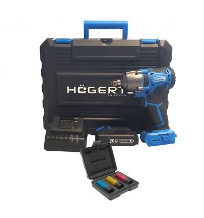 Klucz udarowy 1/2'' 20V 400Nm Hoegert HT2E200