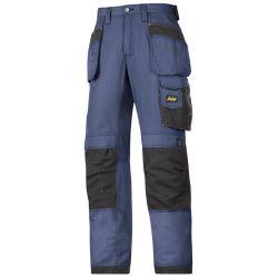 Spodnie robocze Rip-Stop Snickers 3213 granatowe