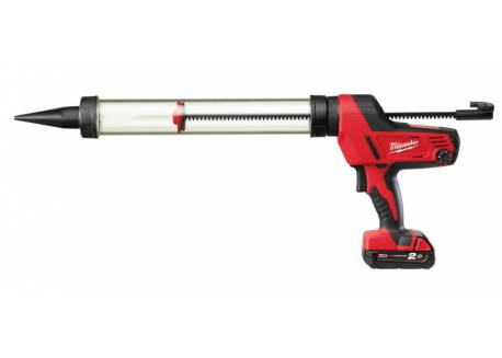 Pistolet do klejenia z tubą 600 ml Milwaukee C18 PCG/600T-201B